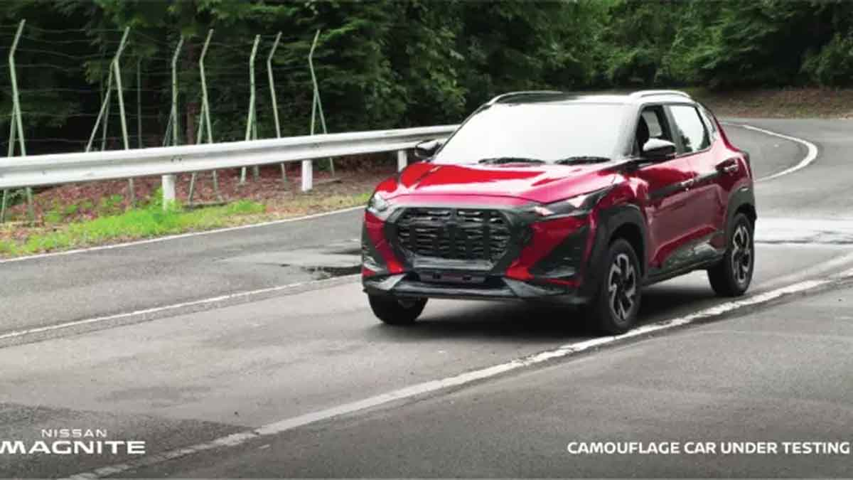 2021 Nissan Magnite 现身印尼测试,搭载1.0涡轮