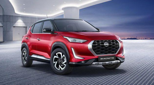 2021 Nissan Magnite 正式发表,1.0L涡轮SUV!