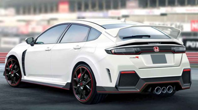 Honda Civic Type R 大改款渲染图登场,最大马力400 PS?