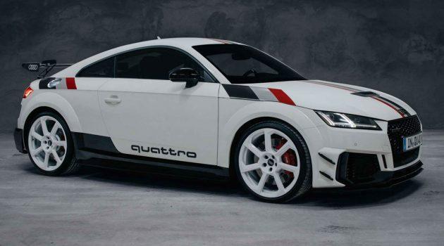 Audi TT RS Quattro 40周年纪念版登场,绝版的 Audi 小跑车!
