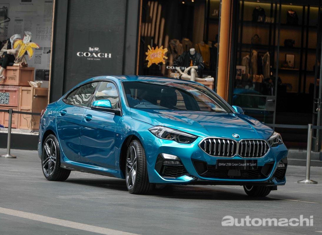 BMW 218i Gran Coupe M Sport 登陆我国,售价RM 211,367