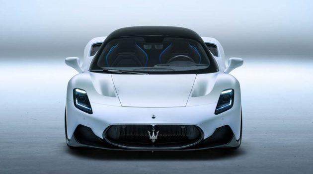 Bridgestone 为 Maserati MC20 超跑打造专属性能轮胎!
