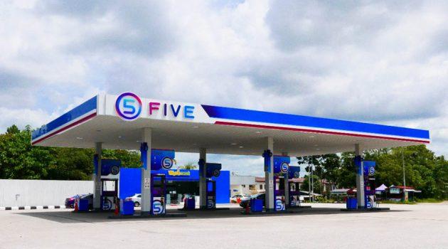 FIVE Petroluem 本地新油站品牌正式发布,拥有 AI 人工智能付款系统!