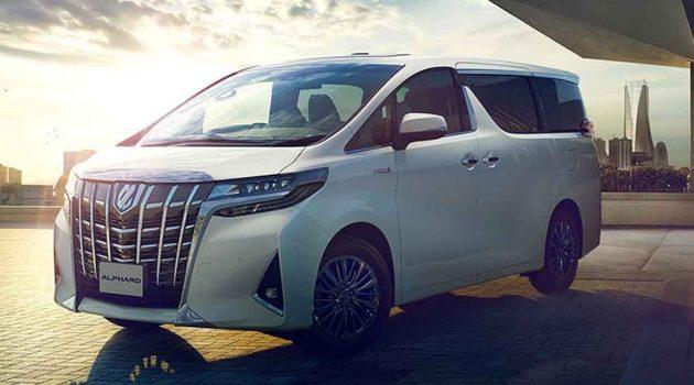 Toyota Alphard 大改款将搭载2.4L涡轮引擎?