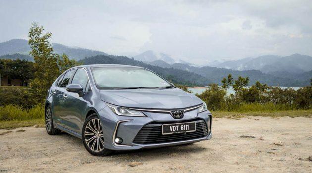 我国值得入手的新车:Toyota Corolla 1.8G
