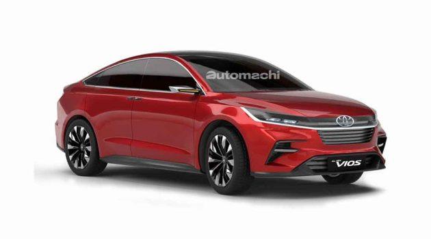 Toyota Vios 大改款开发中,将由 Daihatsu 主导