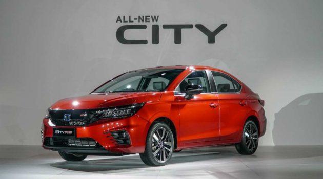 2020 Honda City 四车型规格表