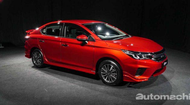 2020 Honda City 车身尺码已经接近 Civic FD ?