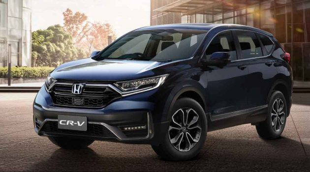 2020 Honda CR-V 正式开放预订
