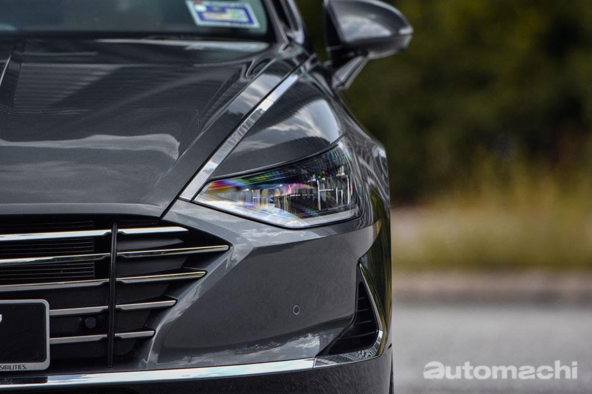 2020 Hyundai Sonata ,完全革新的韩系轿车(图库)