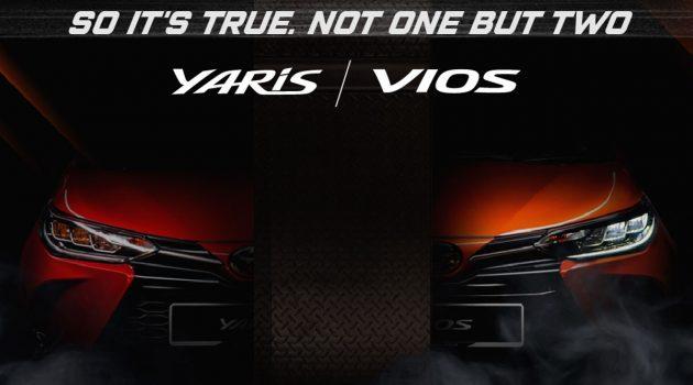 2020 Toyota Vios 预告释出!GR Sport 版本一齐登场?