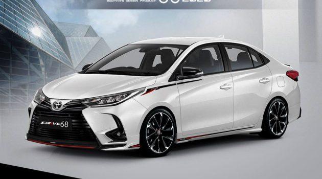 2020 Toyota Vios 将追加 GR Sport 车型!