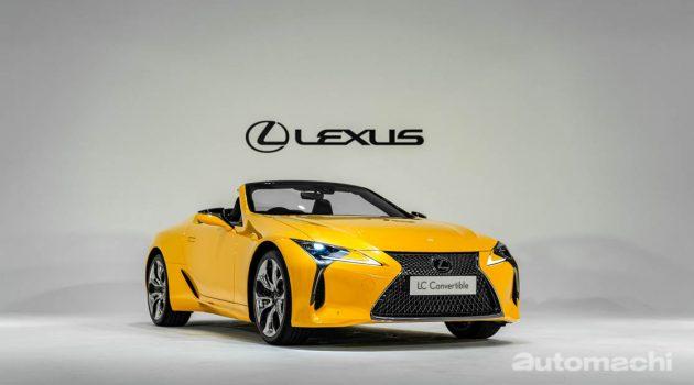 2021 Lexus LC500 Convertible 大马发布,售价 RM1,350,000!