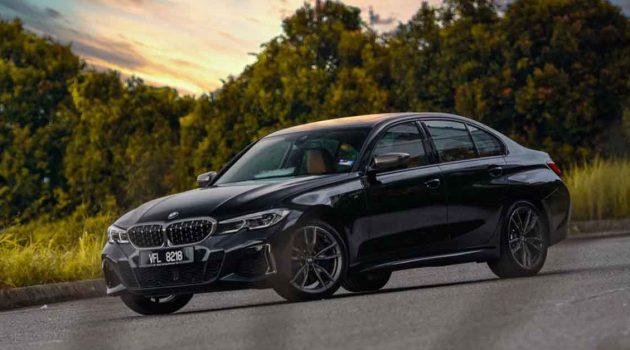 BMW M340i xDrive ,黑色宝马帅气吗?(图库)