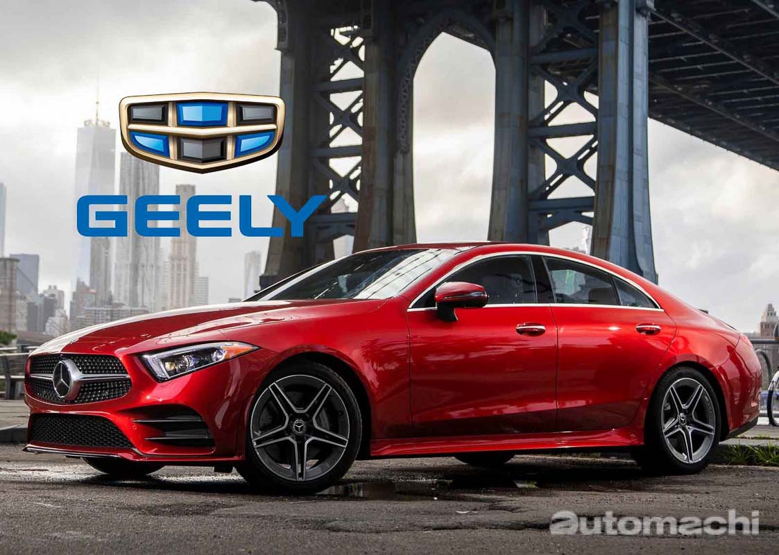 Geely 和 Daimler 联合声明,确认共同开发下一代混合动力引擎