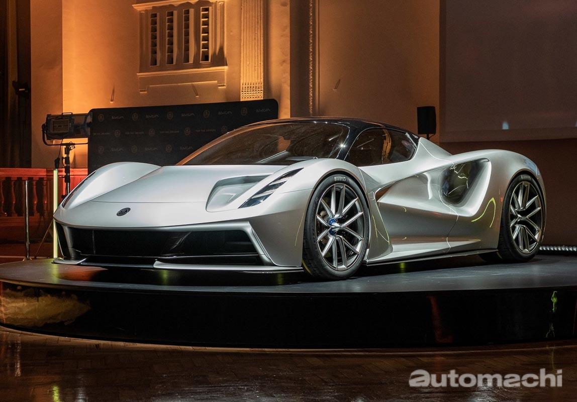 Lotus Evija Type130 将在我国开启预售,售价约RM 16,000,000