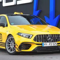 Mercedes-AMG A45 RS525 ,525 Hp的超级钢炮!