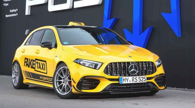 Mercedes-AMG A45 RS525 ,525 Hp的超级钢炮!