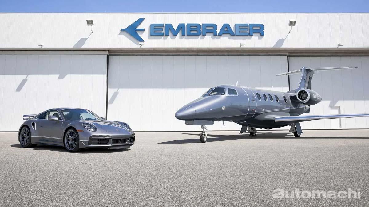 想要 Porsche 911 Turbo S ?买飞机送给你!