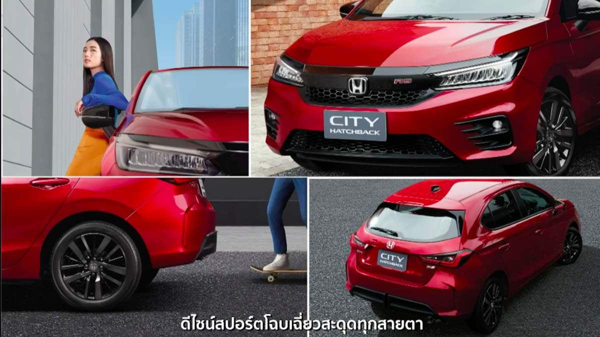Honda City Hatchback 全球首发,未来将取代 Jazz !