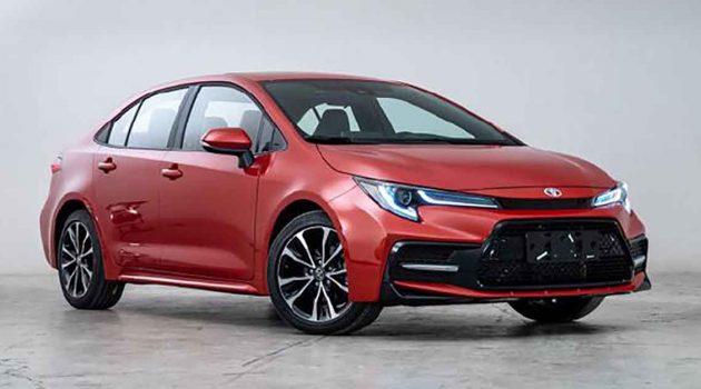 Toyota Corolla 中国获得新引擎,最大马力121 PS!