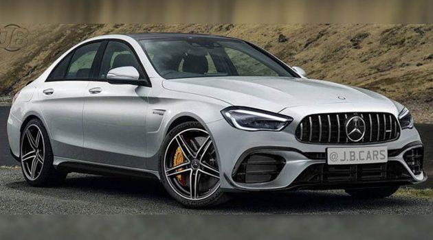 2021 Mercedes-AMG C63 或采用2.0L四缸混动引擎!