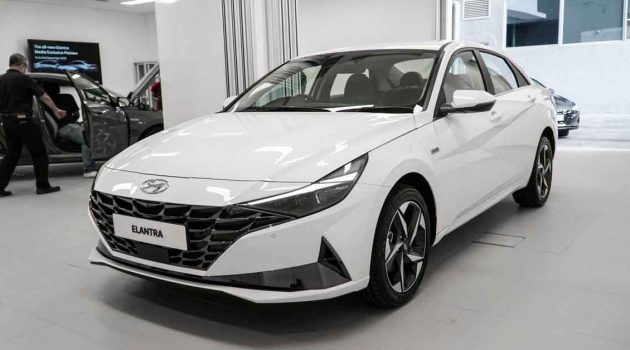 2020 Hyundai Elantra 大马首发,完整ADAS,首搭CVT变速箱!(图库+影片)