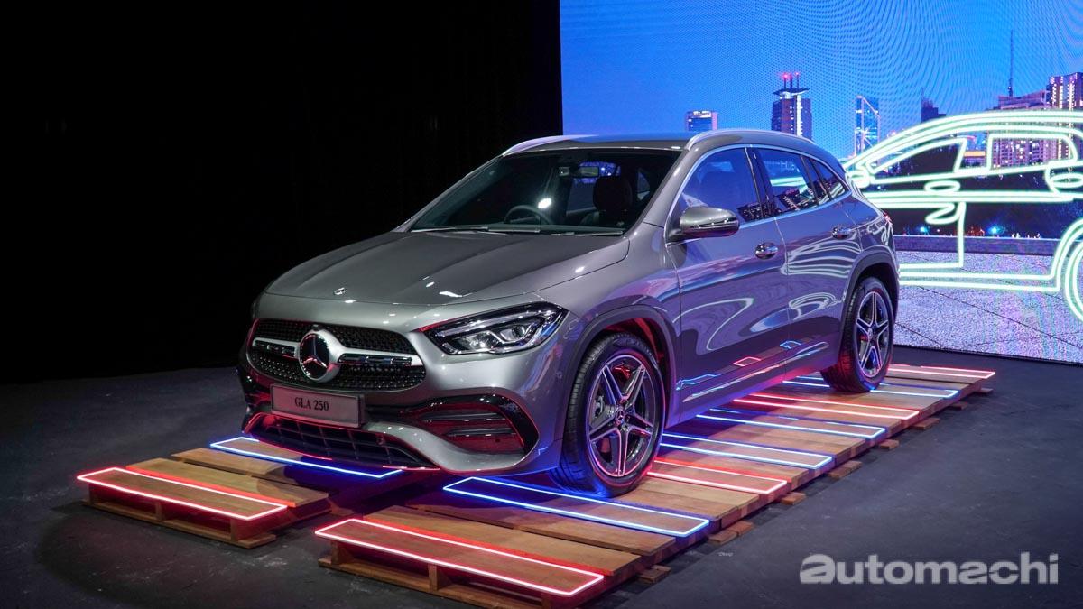 2020 Mercedes-Benz GLA 登陆大马,售价RM 244,199.82起跳
