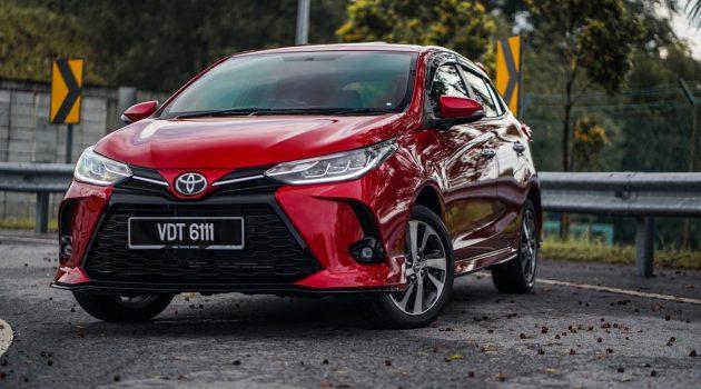 2020 Toyota Vios 和 Yaris 正式发布,售价RM 70,940起跳!
