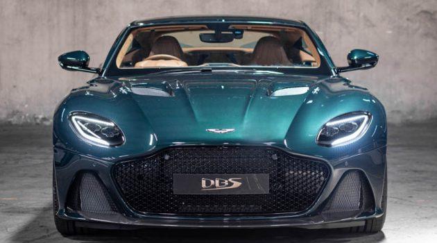 Aston Martin DBS Superleggera Pentland Green 大马发布,售价145万马币!