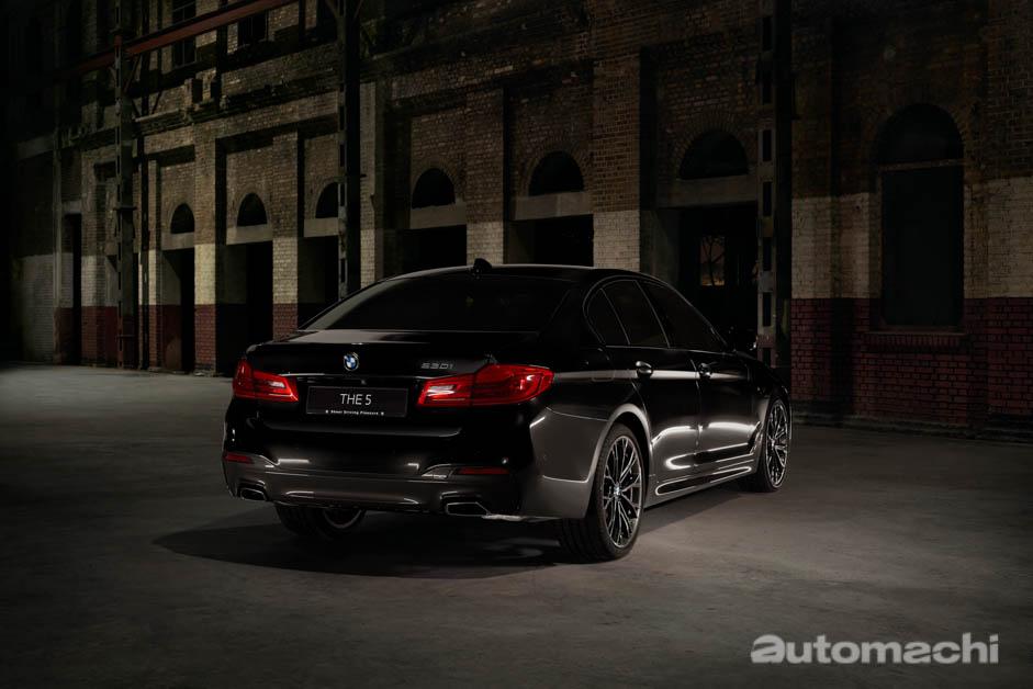 BMW 530i M Sport Dark Shadow Edition