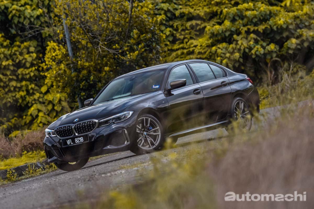BMW M340i xDrive ,黑色的的暴力绅士!