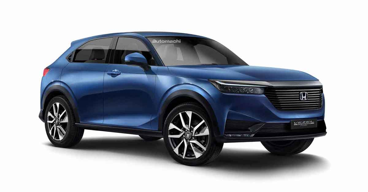 Honda Vezel 2021年4月发布,新世代车型即将来临!   automachi.com