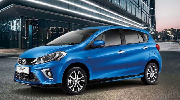 Perodua Myvi 与 Axia 入榜2020年东南亚十大畅销车款!