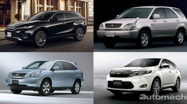 Toyota Harrier ,让SUV变成家庭车的车款