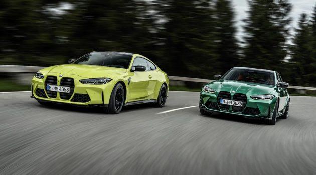 2021 BMW M3 G80 与 BMW M4 G82 登陆我国,售价 RM 664,800 起跳!