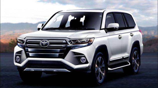 Toyota Land Cruiser 大改款车型2021年4月发表!