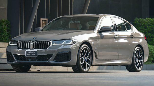 2021 BMW 5 Series G30 LCI 泰国发表,售价由 RM403,958 起跳!