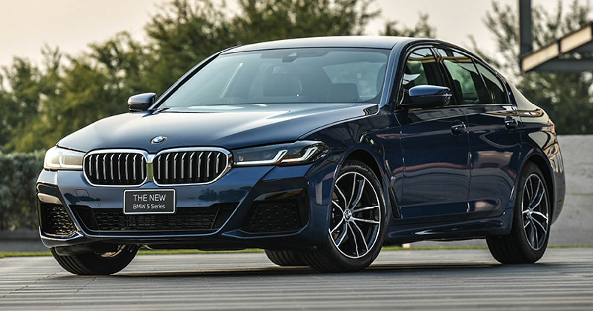 2021 bmw 5 series g30 lci 泰国发表,售价由 rm403,958 起跳