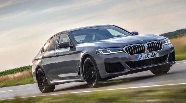 2021 BMW 530e 动力升级,最大马力292 Hp!