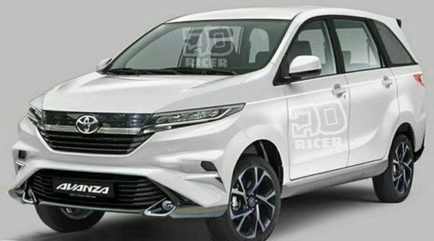 Toyota Avanza 料今年换代,或搭载1.0L涡轮引擎!