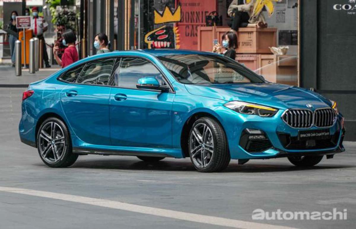 BMW 218i Gran Coupe VS Mercedes-Benz A200 Sedan ,应该怎么选?