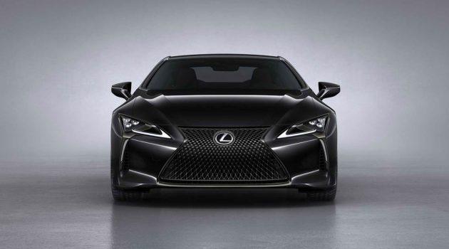 2021 Lexus LC500 Dark Knight 登场,黑武士的外形+V8 引擎魅力无可抵挡!