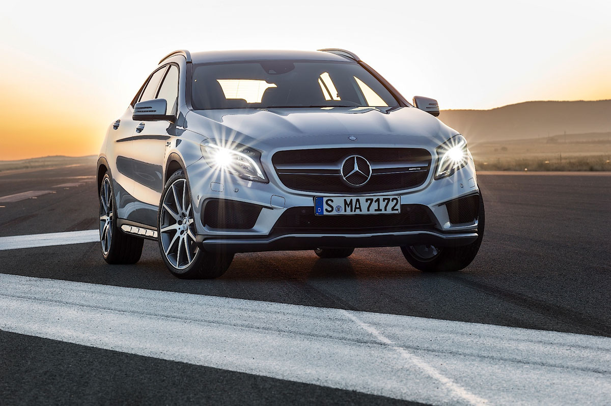 Mercedes-Benz GLA250 AMG-Line ,超帅跨界车