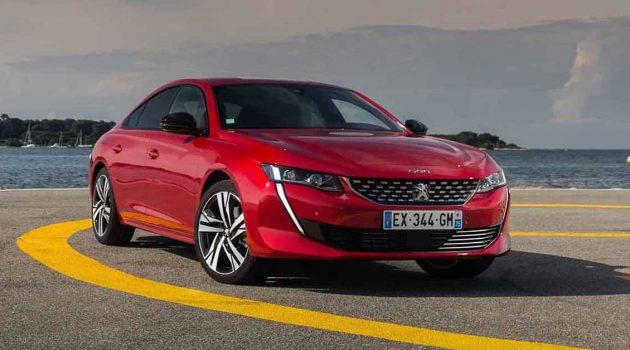 Peugeot 508 现身我国!新代理的第二款车?