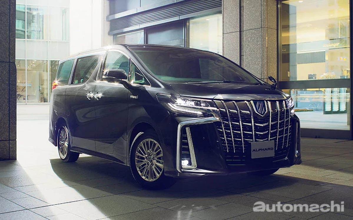 Toyota Alphard 成为日本最受欢迎MPV