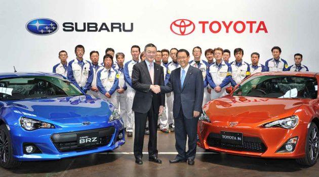 Toyota 正式收购 Subaru 成为旗下控股公司