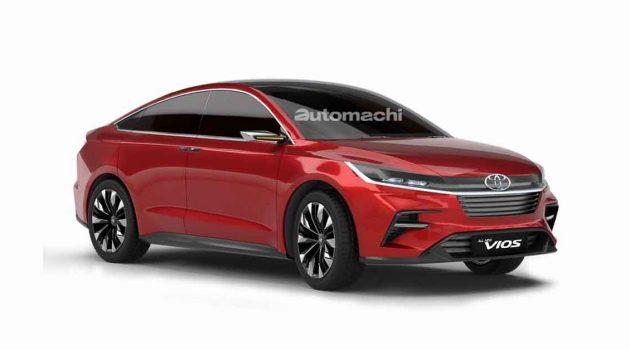 Toyota Vios D92A 正在开发中,2022年8月发布?