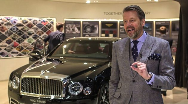 Bentley 首席设计师离职,传将加入 Geely !