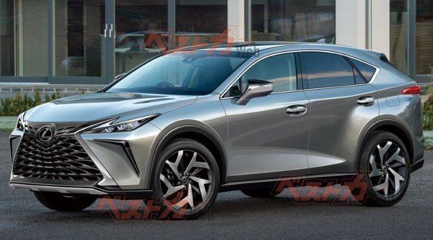 Lexus NX 大改款首次现身测试,预计今年登场!